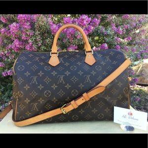 Louis Vuitton Speedy 35 Bandouliere Shoulder Bag